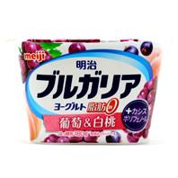 ブルガリアヨーグルト脂肪0 葡萄&白桃+カシスポリフェノールカロリー・価格詳細情報